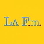 Logo da emissora Radio LA FM 102.7 FM