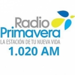 Logo da emissora Radio Primavera 1020 AM