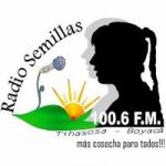 Logo da emissora Radio Semillas 100.6 FM