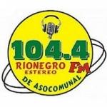 Logo da emissora Radio Rionegro Estéreo 104.4 FM