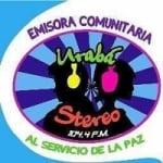 Logo da emissora Radio Urab� Stereo 104.4 FM