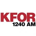 Logo da emissora Radio KFOR 1240 AM
