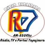 Logo da emissora Rádio Tapajoara 850 AM