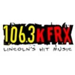 Logo da emissora Radio KFRX 106.3 FM
