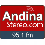 Logo da emissora Radio Andina Stereo 95.1 FM