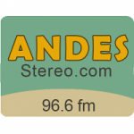 Logo da emissora Radio Andes Stereo 96.6 FM