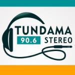 Logo da emissora Radio Tundama Stereo 90.6 FM