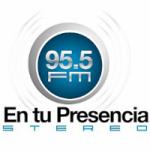Logo da emissora Radio En Tu Presencia 95.5 FM