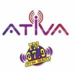 Logo da emissora R�dio Ativa 87.9 FM