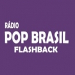 Logo da emissora Rádio Pop Brasil Flashback
