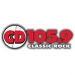 Logo da emissora Radio KKCD 105.9 FM