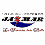 Logo da emissora Radio Jazmar Estéreo 101.3 FM