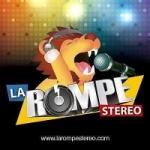 Logo da emissora Radio La Rompe Stereo
