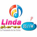 Logo da emissora Radio Linda Stereo 95.1 FM