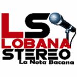 Logo da emissora Radio Lobana Stereo 96.8 FM