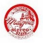 Logo da emissora Radio Magna Stereo 97.6 FM