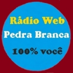 Logo da emissora R�dio Web Pedra Branca