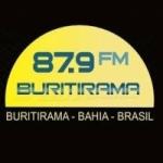 Logo da emissora R�dio Buritirama 87.9 FM