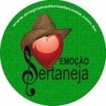 Logo da emissora Rádio Emoção Sertaneja
