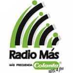 Logo da emissora Radio Más 105.4 FM