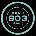 Logo da emissora KRNU 90.3 FM