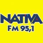 Logo da emissora R�dio Nativa 95.1 FM