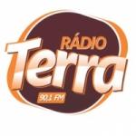 Logo da emissora Rádio Terra 90.1 FM