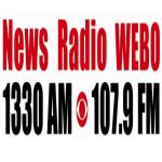 Logo da emissora WEBO 1330 AM