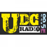 Logo da emissora UDC Radio 99.5 FM