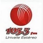 Logo da emissora Radio Univalle Estéreo 105.3 FM