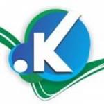 Logo da emissora Rádio Web .K