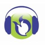Logo da emissora Rádio Fogo do Espírito