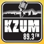 Logo da emissora KZUM 89.3 FM