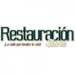 Logo da emissora Radio Restauración Stereo 106.7 FM