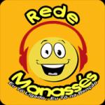 Logo da emissora Rede Manass�s