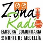 Logo da emissora Zona Radio 88.4 FM