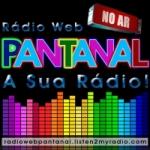 Logo da emissora Rádio Web Pantanal