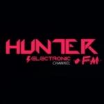 Logo da emissora Hunter FM Eletrônica