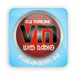 Logo da emissora Voz Municipal