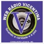 Logo da emissora Rádio Vicentina