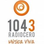 Logo da emissora Radiocero 104.3 FM