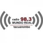 Logo da emissora Radio Mundo Real 98.3 FM