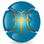 Logo da emissora R�dio Gospel MFH
