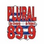 Logo da emissora Radio Plural 89.9 FM