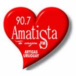 Logo da emissora Radio Amatista 90.7 FM