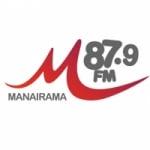 Logo da emissora R�dio Manairama 87.9 FM