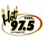 Logo da emissora KVEG 97.5 FM