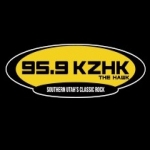 Logo da emissora KZHK 95.9 FM