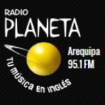 Logo da emissora Radio Planeta 95.1 FM
