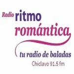 Logo da emissora Radio Ritmo Romántica 91.5 FM